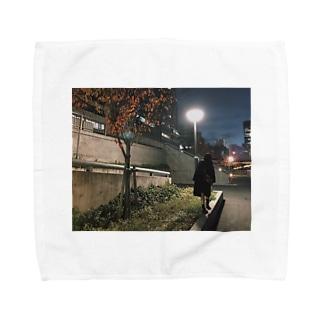 ステッカー Towel handkerchiefs