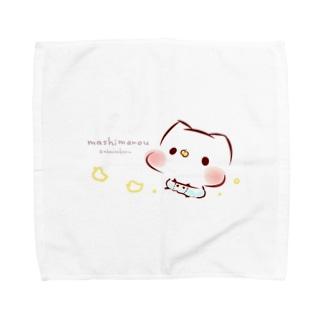 Babyましまろう Towel handkerchiefs