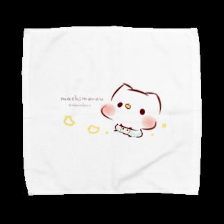 灯さかすのBabyましまろう Towel handkerchiefs