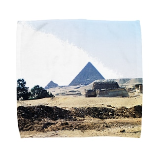 古代エジプト:砂漠に聳えるピラミッド Pyramid/Egypt Towel handkerchiefs