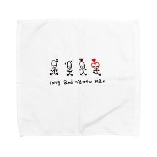 長細マン Towel handkerchiefs