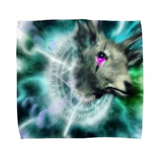 魔界の馴鹿が召喚された Towel handkerchiefs