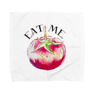 EatMe.トマト(3) Towel handkerchiefs