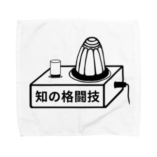 クイズt.知の格闘技 Towel handkerchiefs
