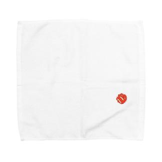 埋め込み梅(おにぎり) Towel handkerchiefs