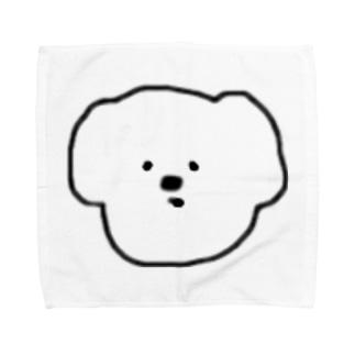 素朴な犬🐶 タオルハンカチ