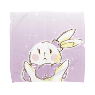 うさぎのミミ・メルシュ Towel handkerchiefs