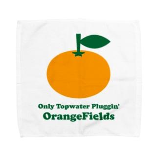 OFロゴ Towel handkerchiefs
