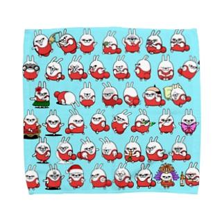擦れうさぎ Towel handkerchiefs