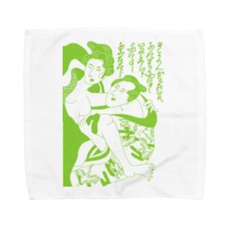 春画 Towel handkerchiefs