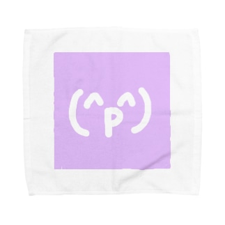 (^p^)あうあうあー Towel handkerchiefs