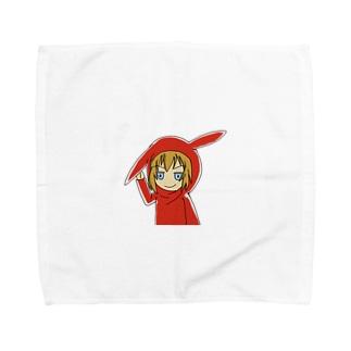まうさんXmas Towel handkerchiefs