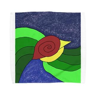 JUNSEN(純仙)泡沫(うたかた)の空 春の宵(よい) Towel handkerchiefs