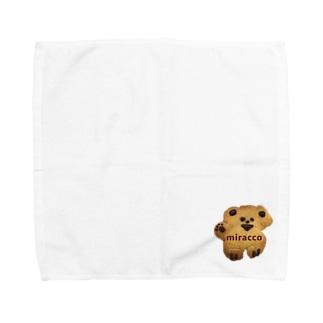 miraccoくっきーさん Towel handkerchiefs