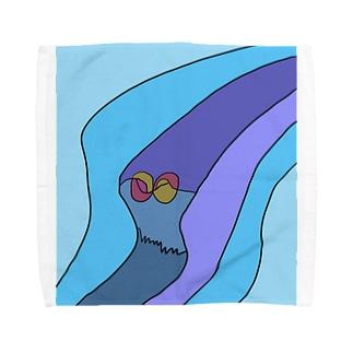JUNSEN(純仙)見えない風の道筋 Towel handkerchiefs