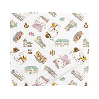 ムル&メリィ 柄 2 Towel handkerchiefs