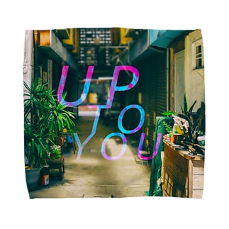 UP TO YOU タオルハンカチ