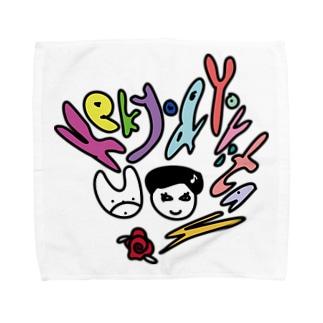 Kekyo & Yoritan RECORDSのUKIUKI Kekyo&Yoritan Towel handkerchiefs