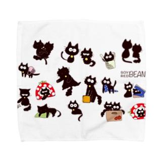だいずとあずき Towel handkerchiefs