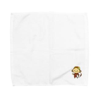 スキルシェアさる Towel handkerchiefs