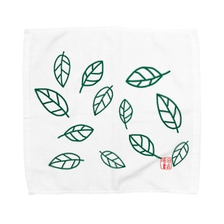 leaf〜葉〜 Towel handkerchiefs