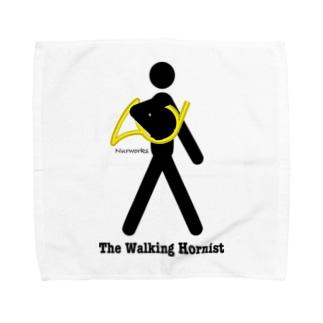 The Walking Hornist w/ Logo Towel handkerchiefs