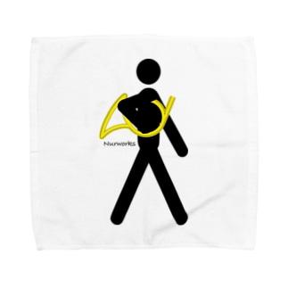 The Walking Hornist w/o Logo Towel handkerchiefs
