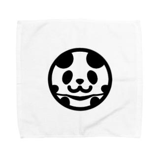 まんまるパンダ Towel handkerchiefs