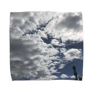そら Towel handkerchiefs