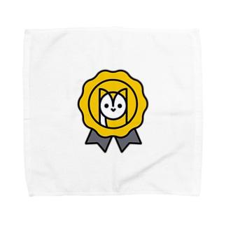 YUKICHI ROSETTE Towel handkerchiefs