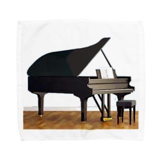 ピアニストの部屋3 タオルハンカチ
