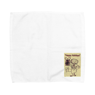 kityiのおばけ君のプレゼント Towel handkerchiefs