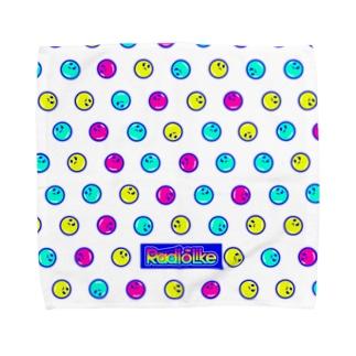 。oO(hmm..)の水玉模様 Towel handkerchiefs