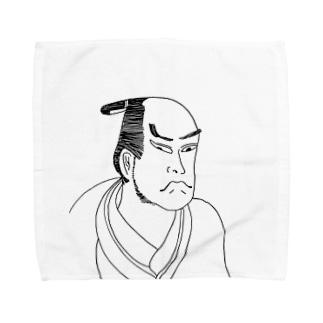 JUNSEN(純仙)江戸侍 九重十吉358A Towel handkerchiefs