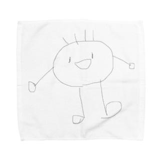 頭足人 Towel handkerchiefs