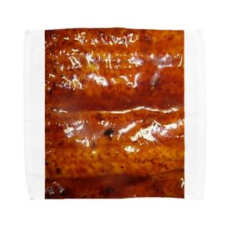 うなぎの蒲焼き Towel handkerchiefs