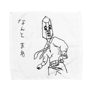 仰天 水晶課長 Towel handkerchiefs