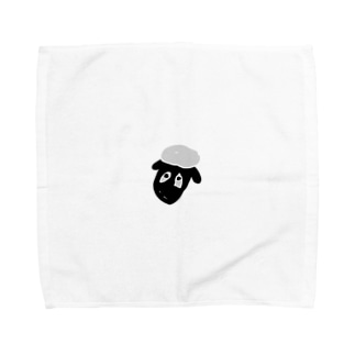 ひつじのしょーん Towel handkerchiefs