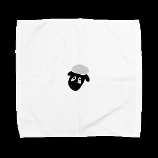 🥀じゅんた🥀のひつじのしょーん Towel handkerchiefs