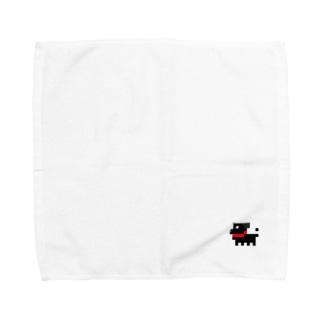パグ式会社でやってます Towel handkerchiefs