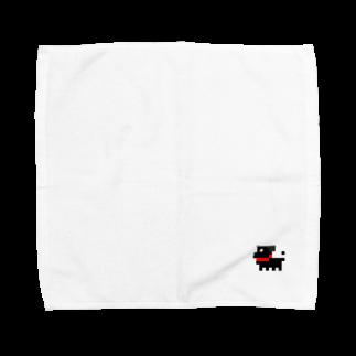 ぱぐしき会社 どんのパグ式会社でやってます Towel handkerchiefs