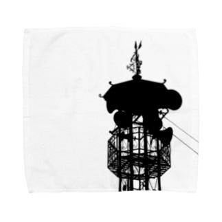 火の見櫓 その4 Towel handkerchiefs