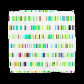 レオナのColor Bars Towel handkerchiefs
