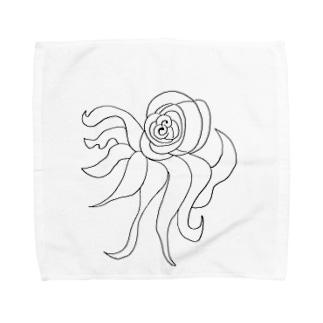 JUNSEN(純仙)すばしっこい軟体動物 Towel handkerchiefs