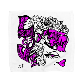 lovemyself. by F.W.W. Towel handkerchiefs