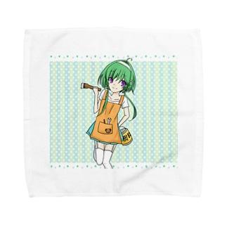 樹脂の妖精 Towel handkerchiefs