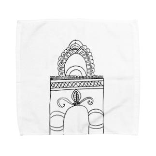 JUNSEN(純仙)学び舎の門 Towel handkerchiefs