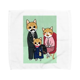みっちゃの入学祝い Towel handkerchiefs