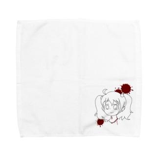 生首女子 Towel handkerchiefs