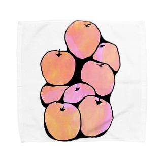 リンゴ Towel handkerchiefs